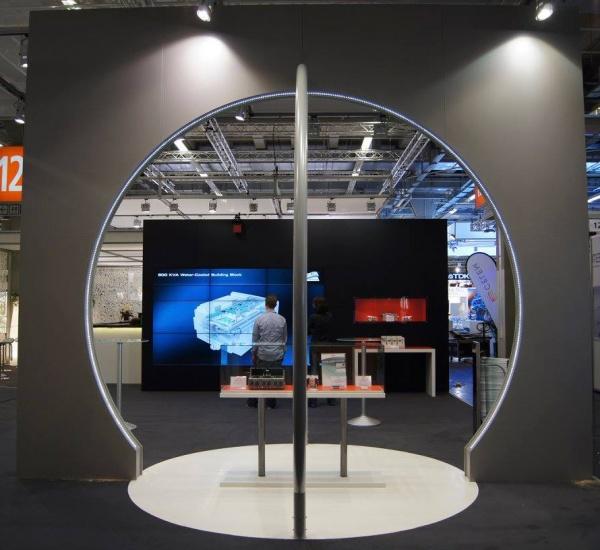 Messebau / Atelier Scherer / Semikron