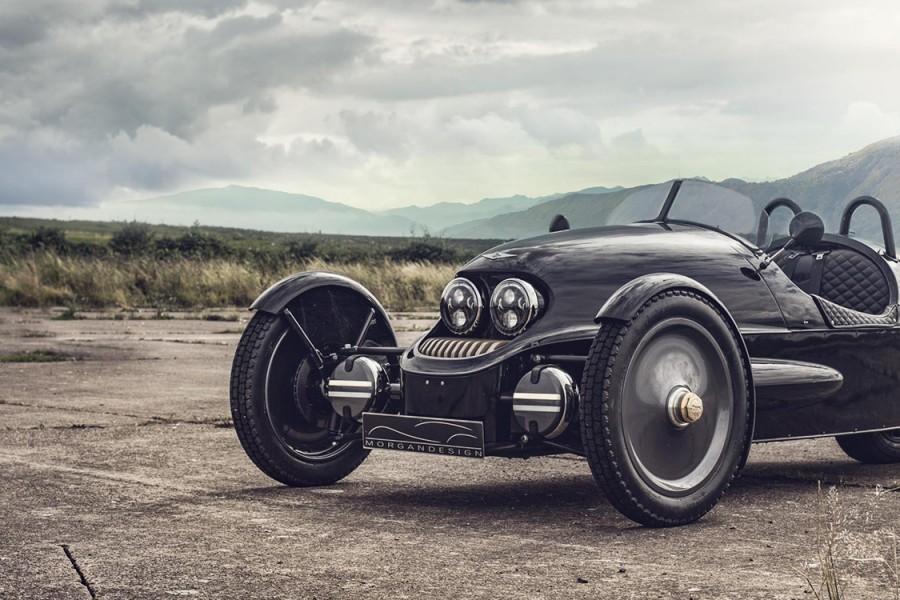 Three-wheel morgan EV3