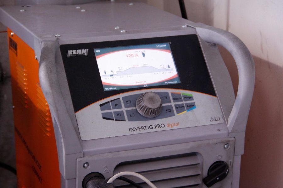 Unser neues Rehm Invertig Pro Digital WIG-Schweissgerät